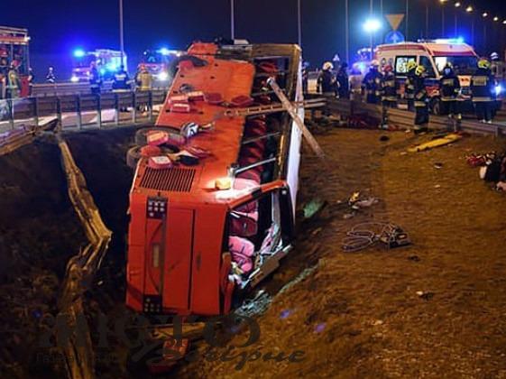 Деталі аварії в Польщі, в якій загинули українці