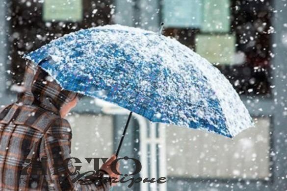 Сніг та дощ продовжаться і на початку наступного тижня