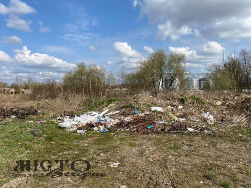 У Володимирі розростається стихійне сміттєзвалище на вулиці Наталії Ужвій