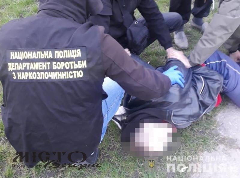 У Володимирі-Волинському затримали наркоторгівця