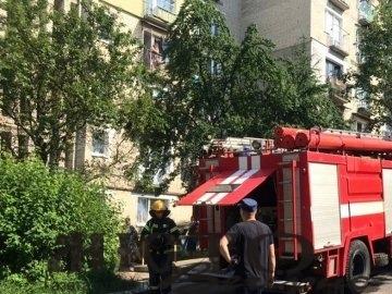 У Нововолинську горіла квартира у багатоповерхівці