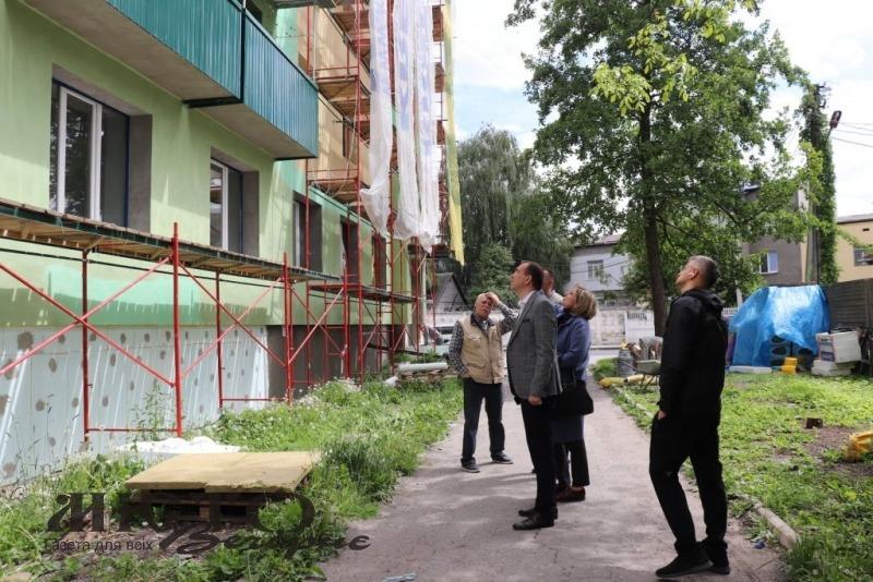 ОСББ «Каштан» у Володимирі майже пройшло повну термомодернізацію