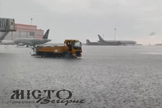 У Москві затопило аеропорт «Шереметьєво»