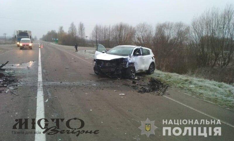 На Волині - смертельна автоаварія, загинуло двоє людей