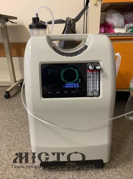 Володимир-Волинська лікарня придбала додаткове обладнання для боротьби з коронавірусом