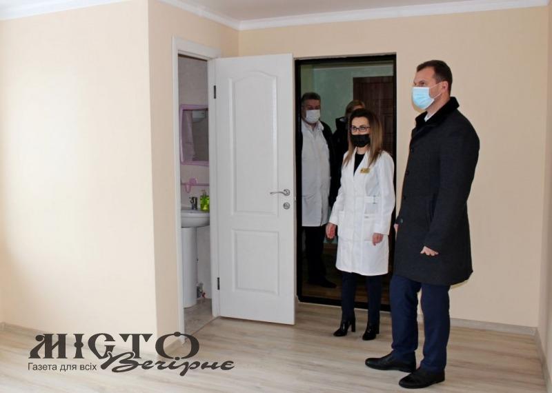 У Володимирі-Волинському обладнали кімнати для тимчасового проживання лікарів