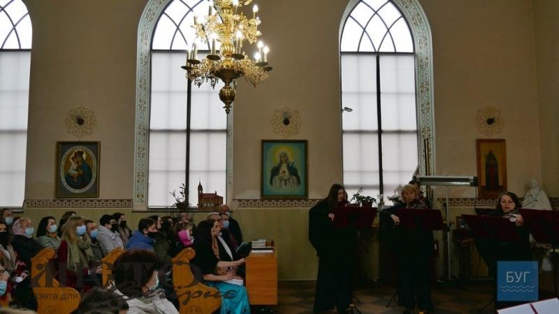 У кірсі святого Йосафата у Володимирі відбувся концерт духовної музики
