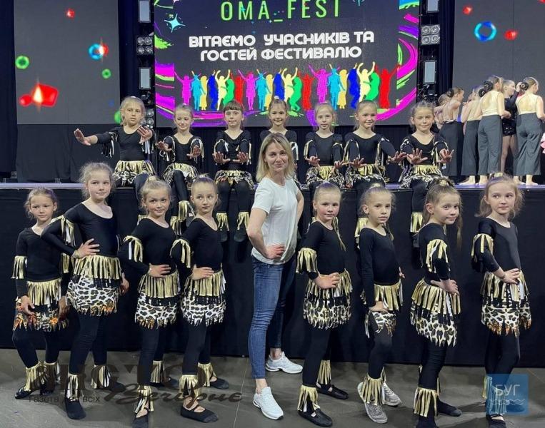 Танцюристки з Володимира здобули гран-прі та призові місця на конкурсі у Львові