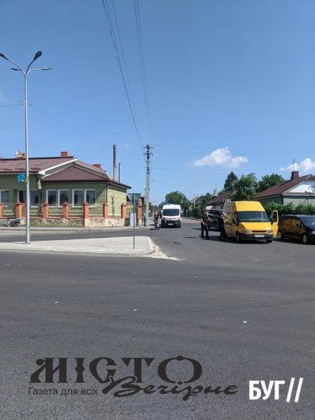 У Володимирі на перехресті сталася ДТП