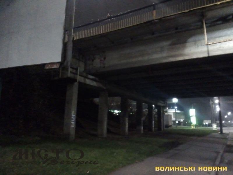 У Луцьку жінка впала з мосту