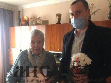 Жителька Володимира-Волинськго відзначила 90-річний ювілей