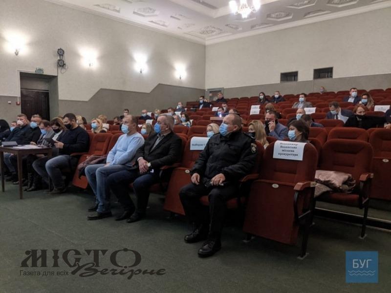 У Володимир-Волинській міській раді створили три депутатські фракції та сім депутатських комісій