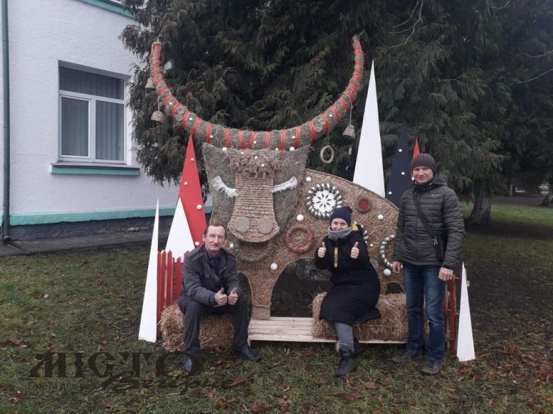 У Володимирі встановили першу інсталяцію «Зимової феєрії»