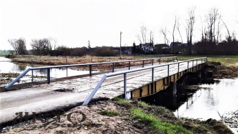 У Володимир-Волинській громаді обладнали міст через Лугу