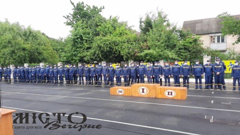 У Луцьку відбулись замагання з пожежно-прикладного спорту