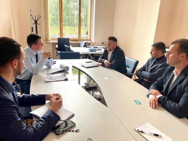 Мери Нововолинськ та Володимира зустрілись із керівництвом «UkraineInvest»