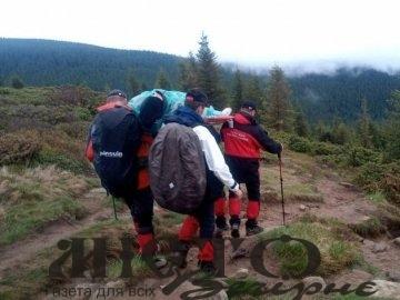 При спуску з Говерли травмувалася туристка з Волині