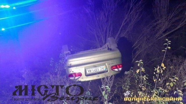 У Ківерцівському районі загинув водій легковика