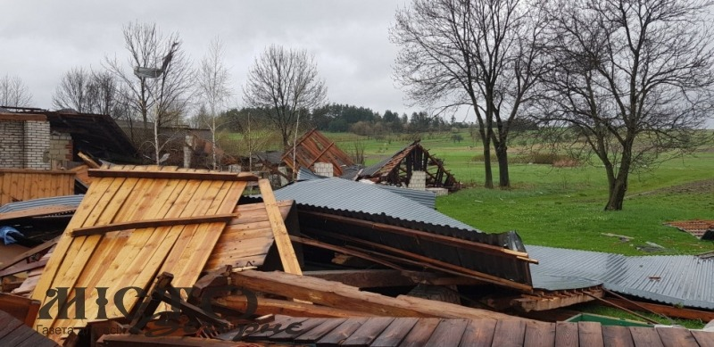 У Польщі пройшов торнадо