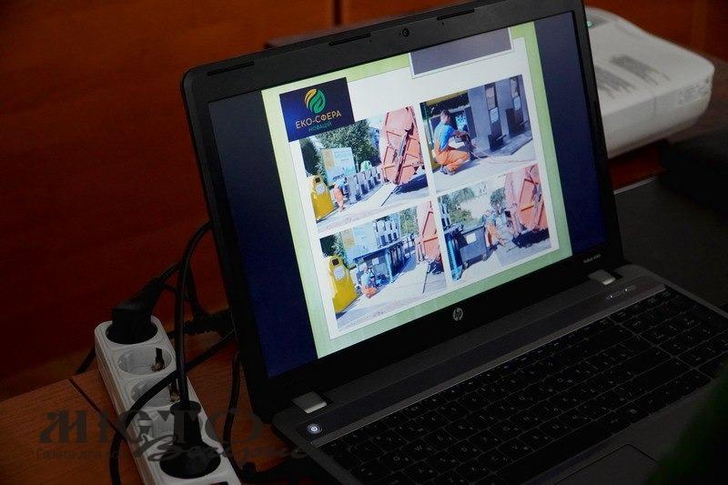 У міській раді Володимира презентували сортувальну лінію по утилізації ТПВ
