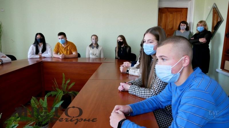 Відзначили лідерів учнівського самоврядування Володимира