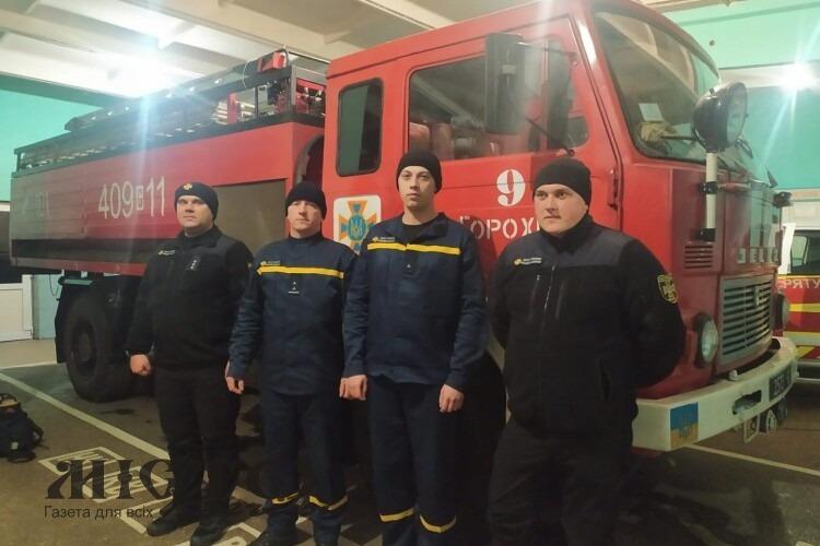 Волинські рятувальники зберегли життя двом мешканкам Горохівщини