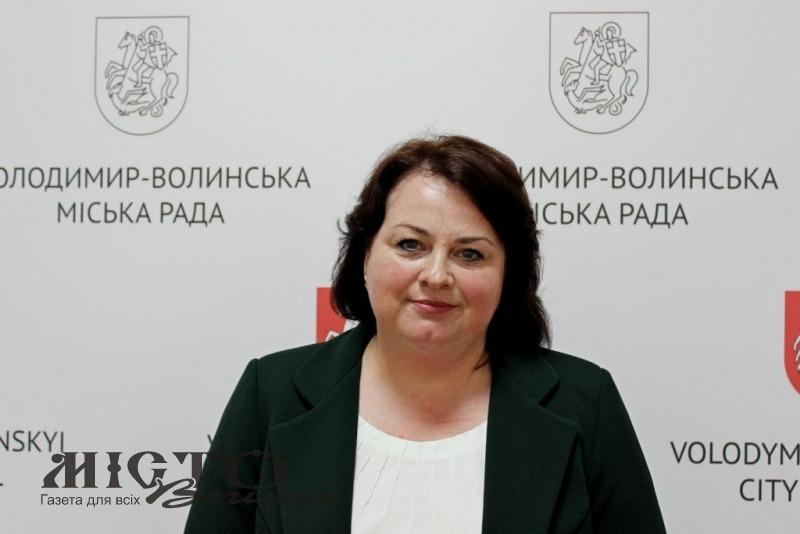 У Володимирі новою начальницею управління бюджету і фінансів стала Оксана Субицька