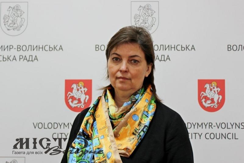 У Володимирі новим начальником управління «Центру надання адміністративних послуг» стане Алла Троць