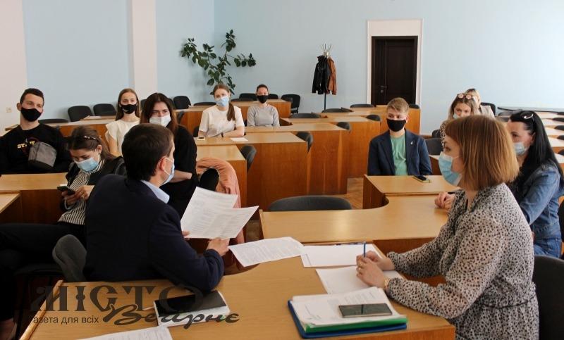 У Володимирі відбулось засідання установчих зборів з формування складу Молодіжної ради