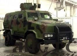Українська армія отримала нові броньовані автомобілі