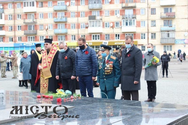 У Володимирі-Волинському відзначили День пам'яті і примирення та День перемоги над нацизмом у Другій світовій війні