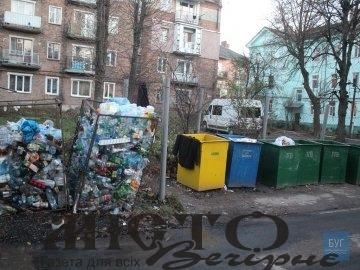 У Нововолинську думають, як сортувати та переробляти сміття