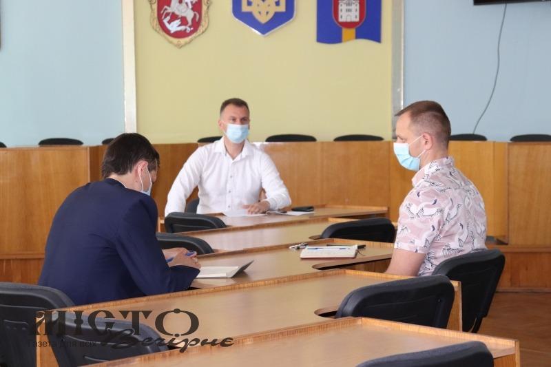 У Володимирі відбулось позачергове засідання комісії ТЕБ і НС