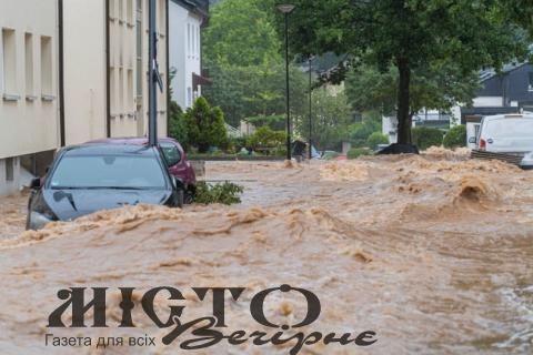 У Німеччині вже 133 загиблих через дощі та повені