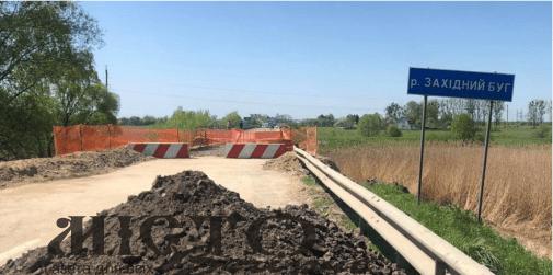 Тимчасовий міст на трасі «Львів-Луцьк» обіцяють спорудити вже до кінця червня