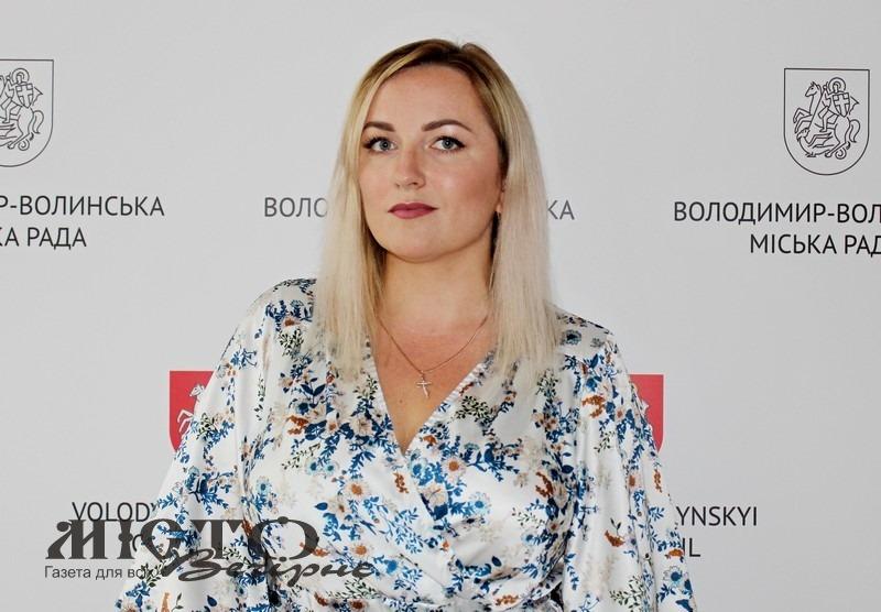 У Володимирі конкурсна комісія рекомендує на посаду головного спеціаліста відділу зв'язків із громадськістю та засобами масової інформації  Ізотову Тетяну