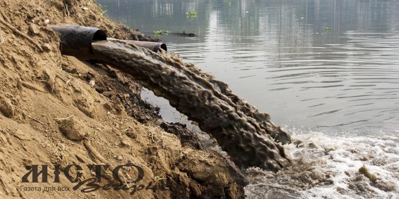 На Волині оштрафували два водоканали за забруднення у стічних водах