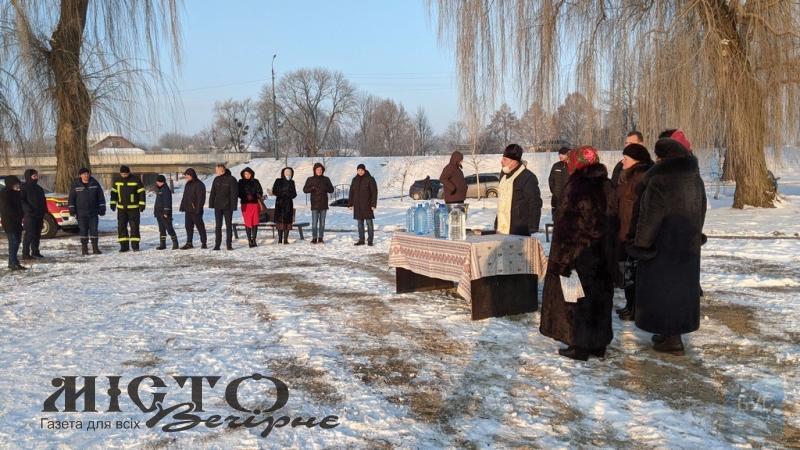 У Володимирі освятили воду в річці Луга