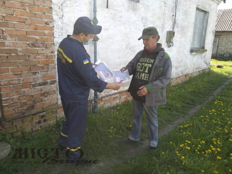 Володимирські рятувальники закликають громадян дотримуватись вимог пожежної безпеки