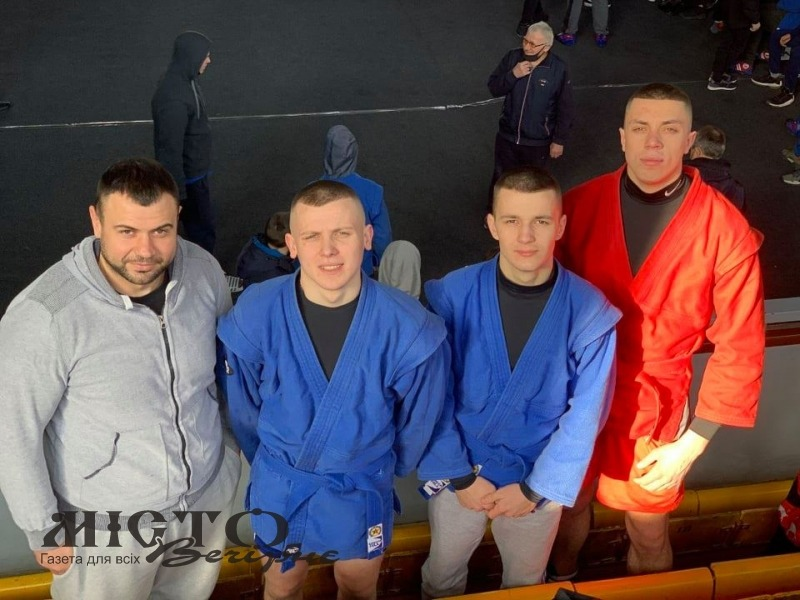 Спортсмени з Володимира взяли участь в Чемпіонаті України з бойового самбо