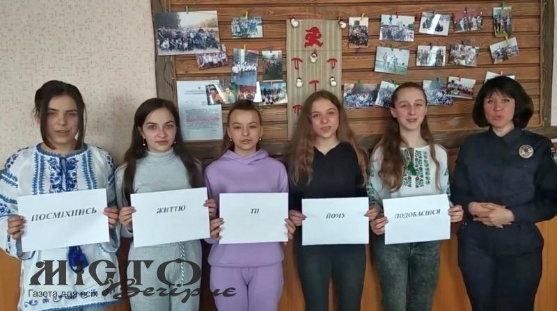 Володимир-волинські школярі спільно з сектором ювеніальної поліції зняли відеоролик