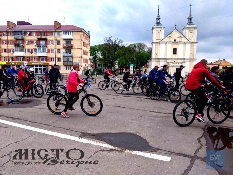 У Володимирі відбувся велопробіг вулицями міста