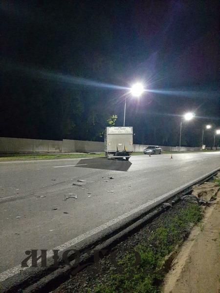 У Володимирі біля військового містечка трапилась аварія