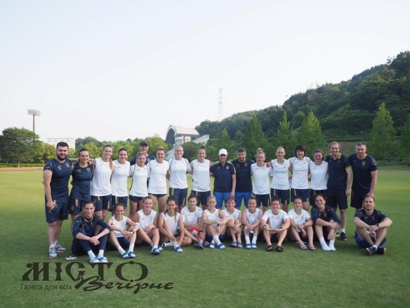 Жіноча футбольна збірна України, до складу якої входять володимирські спортсменки, зіграє проти Японії у Хіросімі
