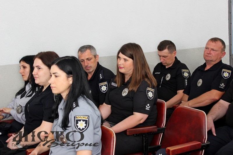 Працівників Володимир-Волинського відділу поліції привітали з професійним святом