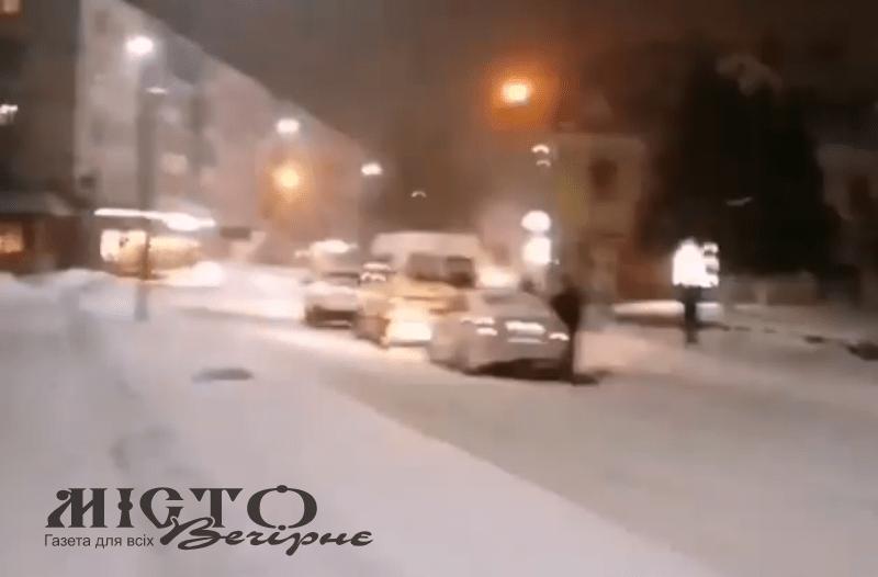 На світлофорі у Володимирі знову трапилась аварія