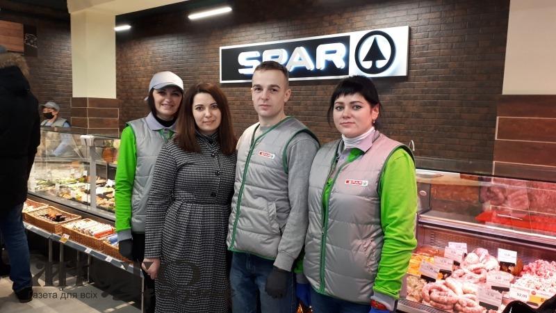У Володимирі відкрився супермаркет «SPAR», який є частиною всесвітньо відомої мережі