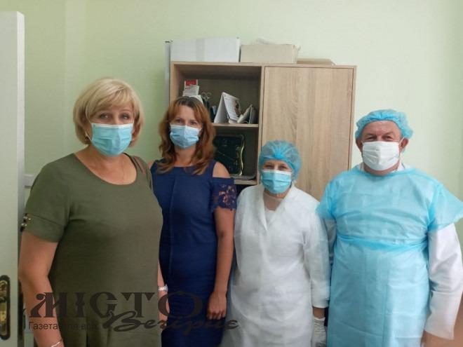 Інспектували роботу центрів масової вакцинації Володимир-Волинського району