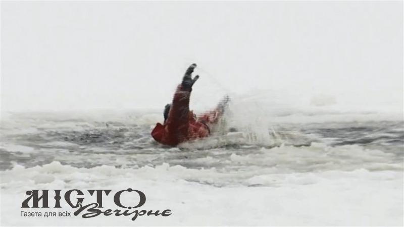 На Волині чоловік провалився під лід