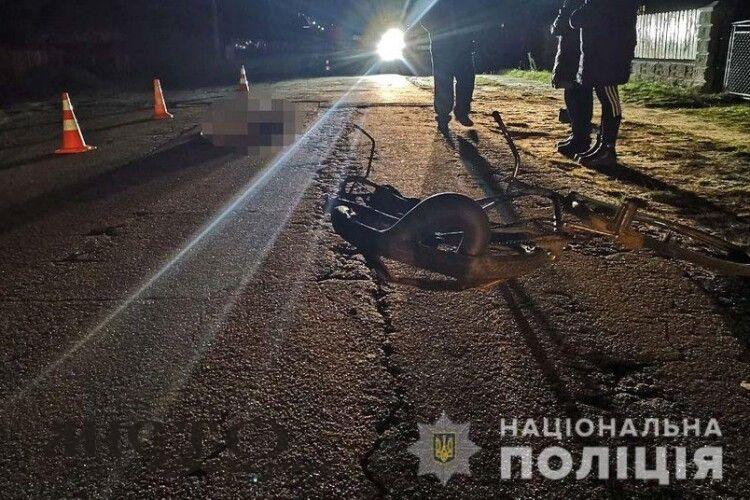 У Радивилові п'яний водій збив велосипедистку – жінка загинула